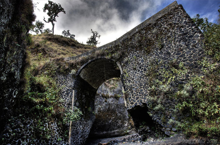 © Bridge on the way up Rinjani - ? From Flickr user NeilsPhotography...