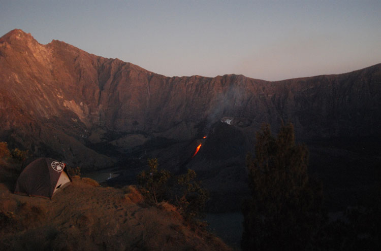 Mount Rinjani -From Flickr user Habi