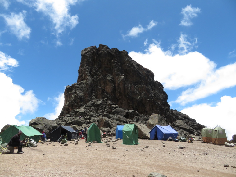 Tanzania Mount Kilimanjaro, Lava Tower, Lava Tower, Walkopedia