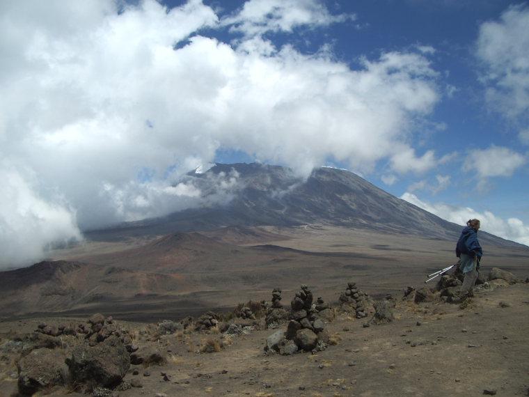 Tanzania Mount Kilimanjaro, Marangu Route , Kilbo from Marangu Route, Walkopedia