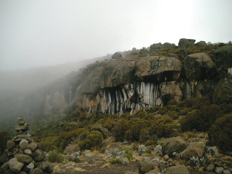 Tanzania Mount Kilimanjaro, Marangu Route , Zebra Rock , Walkopedia