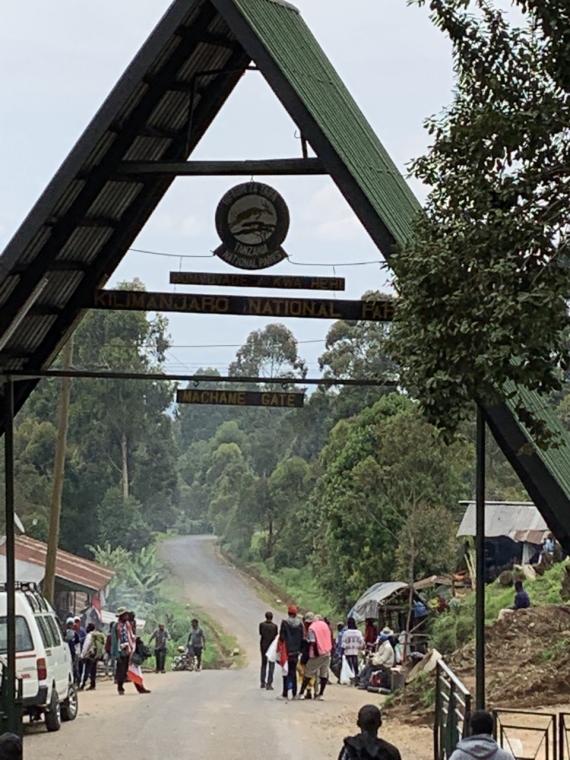 Tanzania Mount Kilimanjaro, Machame Route, Machame Gate, Walkopedia