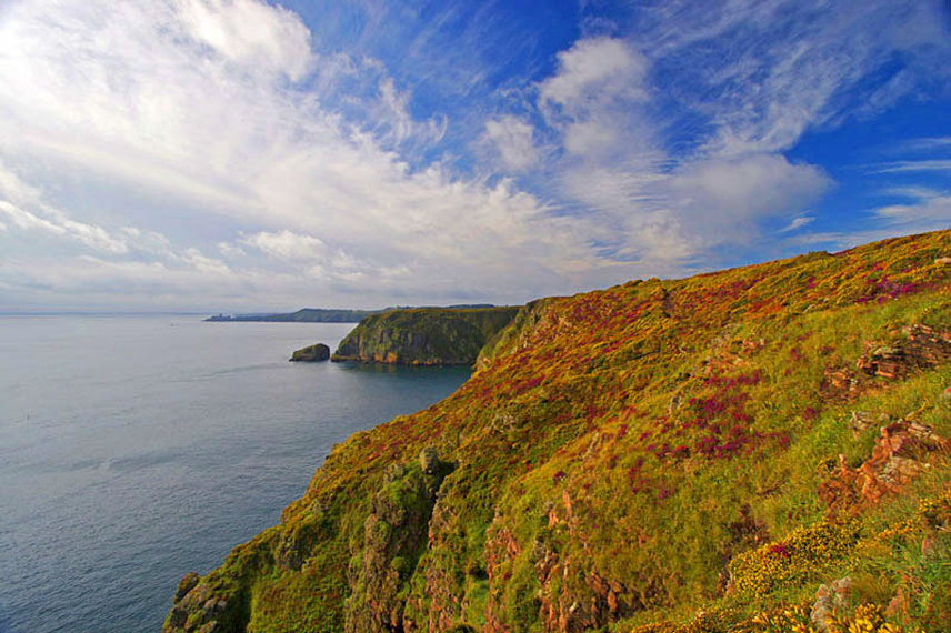 France Brittany, GR34, Emerald coast, Cap Frehel, Walkopedia