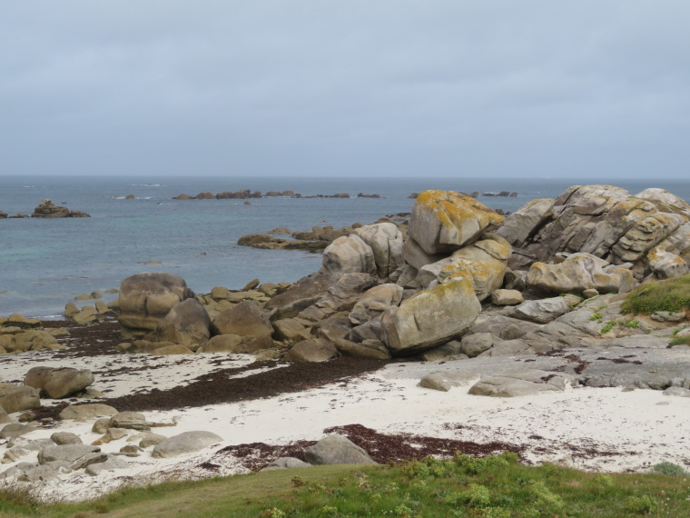 France Brittany, GR34, Finistere, Coast north of Kerlouan, Walkopedia