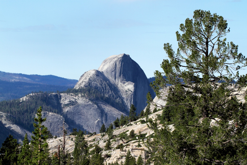 USA California Yosemite, Off Glacier Point Road , From 4 Mile Trail, Walkopedia