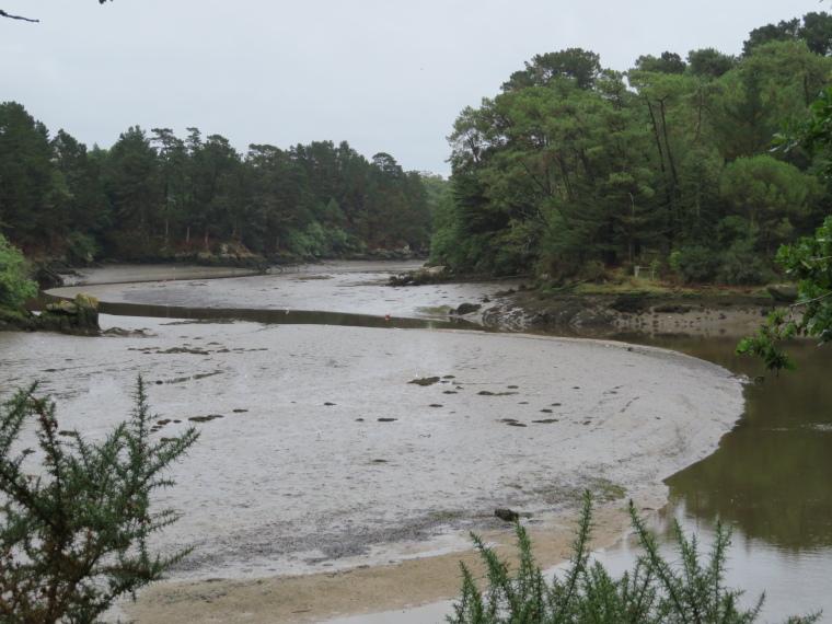 Brittany: Estuary below Pont Aven - © William Mackesy