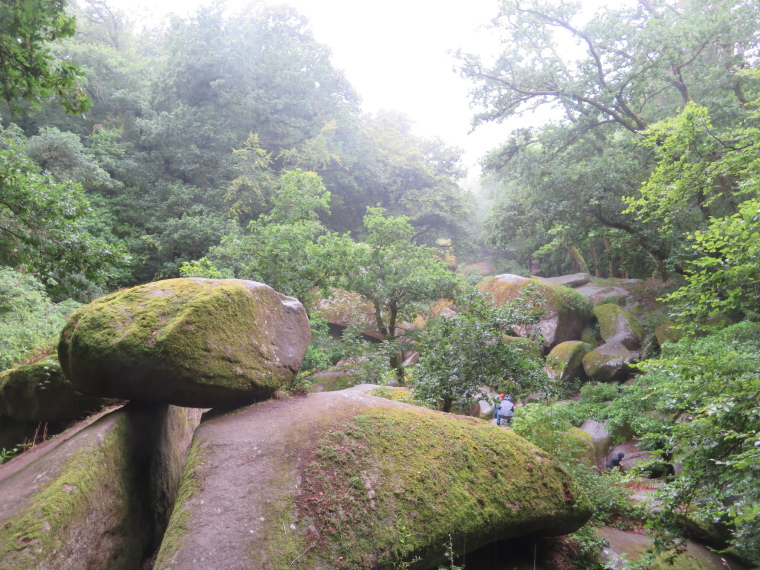 France Brittany, Brittany, Huelgoat forest, Walkopedia