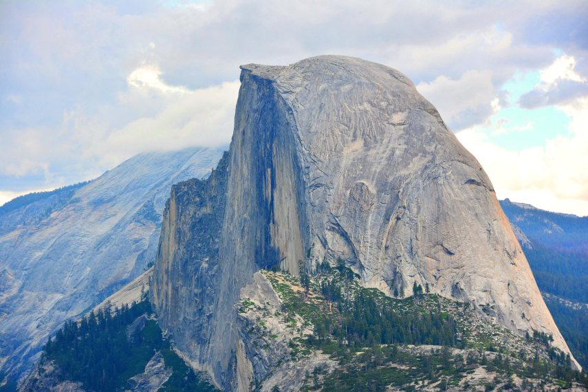 USA California Yosemite, Grand Traverse , Half Dome, Walkopedia