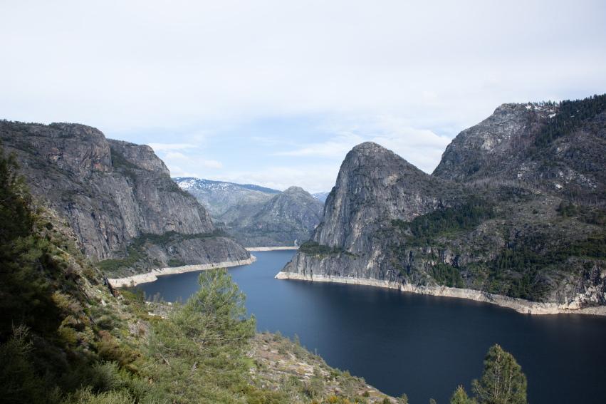 USA California Yosemite, Hetch Hetchy Area, Leaving Hetch Hetchy , Walkopedia
