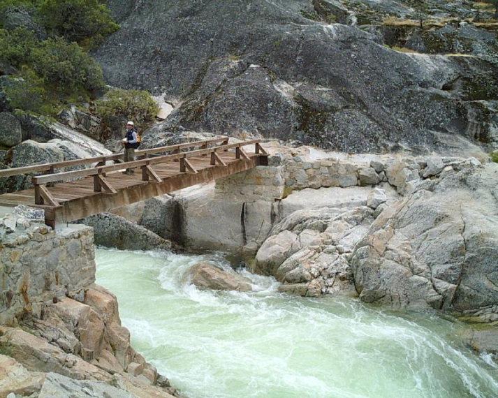 USA California Yosemite, Hetch Hetchy Area, Rancheria Falls 2, Walkopedia
