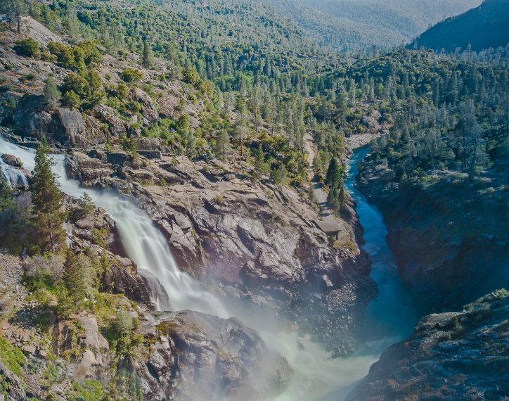 USA California Yosemite, Hetch Hetchy Area, , Walkopedia