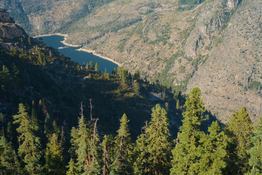 USA California Yosemite, Hetch Hetchy Area, Smith Peak , Walkopedia