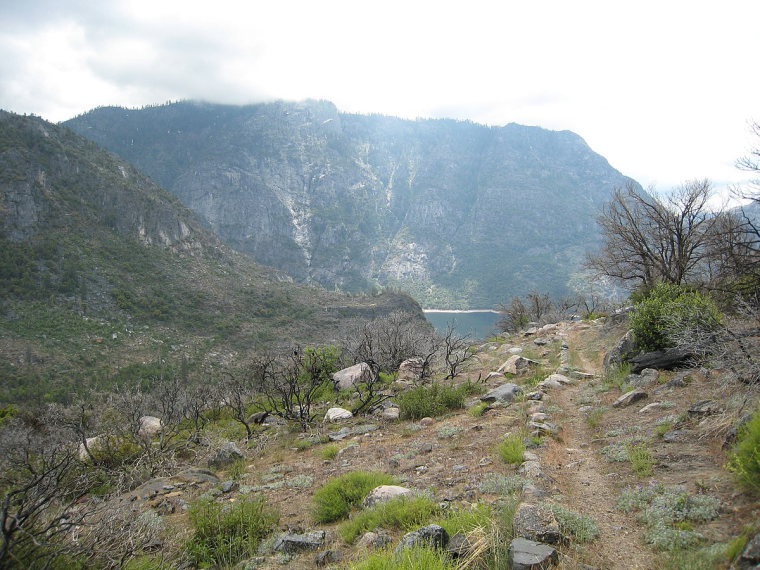 Hetch Hetchy Area: Trail from Tiltill Valley  - © c WikiCommons user Richard Wood