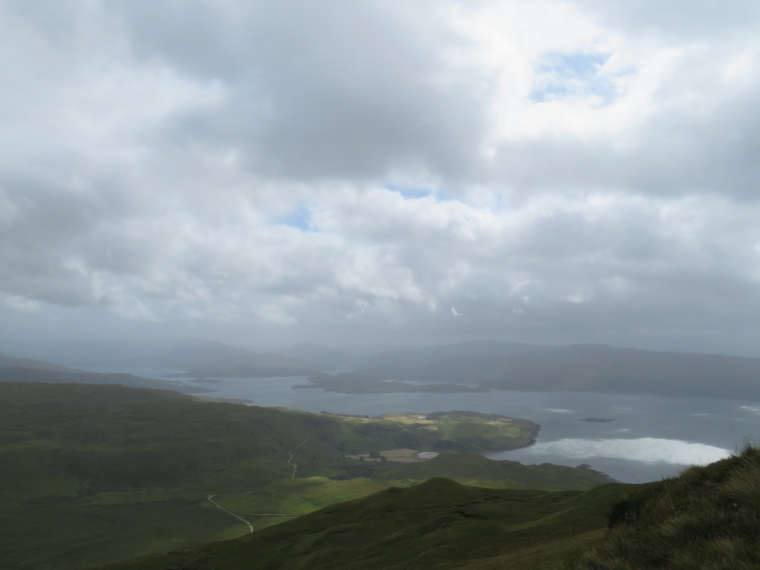 United Kingdom Scotland NW Highlands Ardnamurchan, Ben Hiant, Light on Loch Sunart, Walkopedia