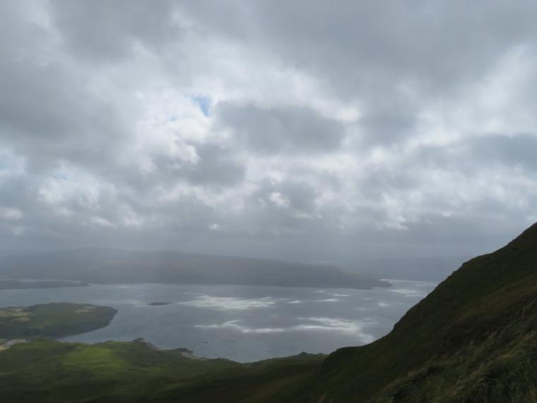 Ben Hiant: Light on Loch Sunart