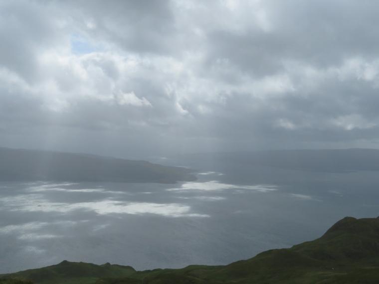 Ben Hiant: Light on Loch Sunart and sound of Mull
