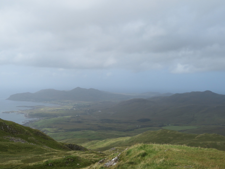 Ben Hiant: West from summit