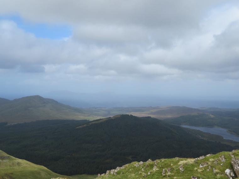 United Kingdom Scotland NW Highlands Ardnamurchan, Ben Hiant, North from summit, Walkopedia