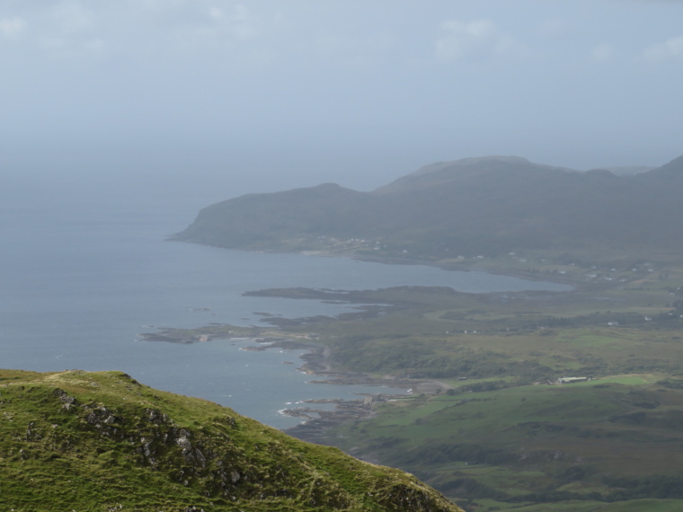 United Kingdom Scotland NW Highlands Ardnamurchan, Ben Hiant, West from summit, Walkopedia