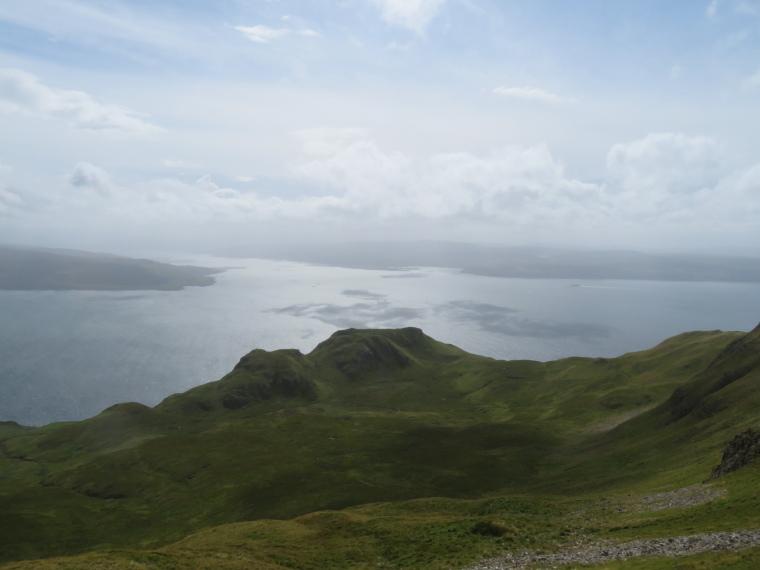 United Kingdom Scotland NW Highlands Ardnamurchan, Ben Hiant, South from ridge, Walkopedia