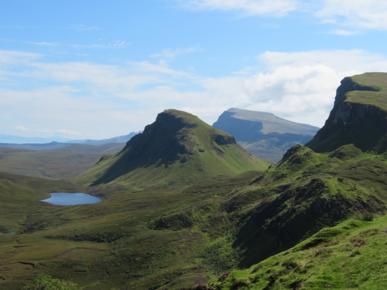 Quiraing: Looking sourth from near pass - © William Mackesy