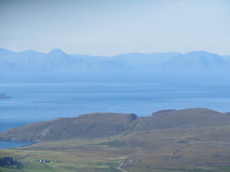 United Kingdom Scotland Isles Skye, Quiraing, North to Rubha Hunish and Outer Hebrides from Quiraing, Walkopedia