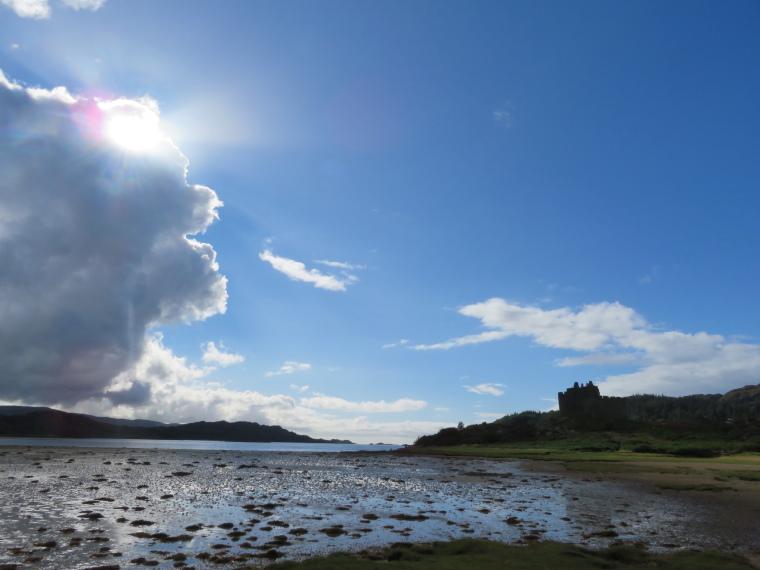 United Kingdom Scotland NW Highlands Ardnamurchan,  Silver Walk, Castle Tioram, Walkopedia
