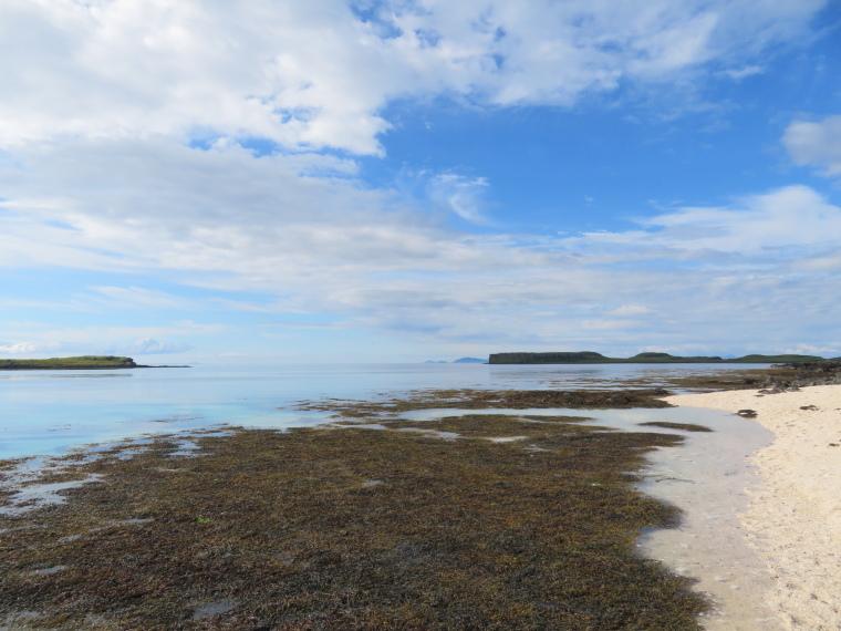 United Kingdom Scotland Isles Skye, NW Capes and Cliffs, Coral Beach, Walkopedia