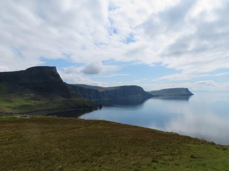 NW Capes and Cliffs: S from Neist Point to Waterstein, Ramasaig, Hoe - © William Mackesy