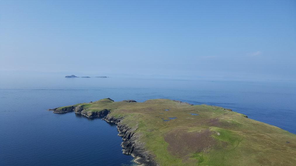 United Kingdom Scotland Isles Skye, Skye Trail, Rubha Hunish in the far north, Walkopedia