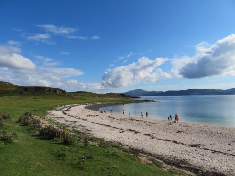 United Kingdom Scotland Isles Skye, Coral Beach, , Walkopedia