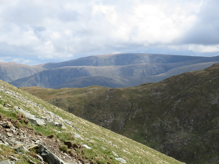 The Lake District: High Street from Dollywaggon Pike