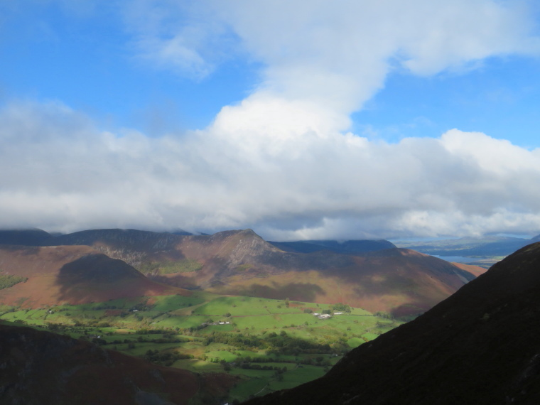 The Lake District: Looking west from Catbells - © William Mackesy