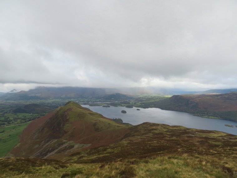 The Lake District: Catbells and Derwent Water - © William Mackesy