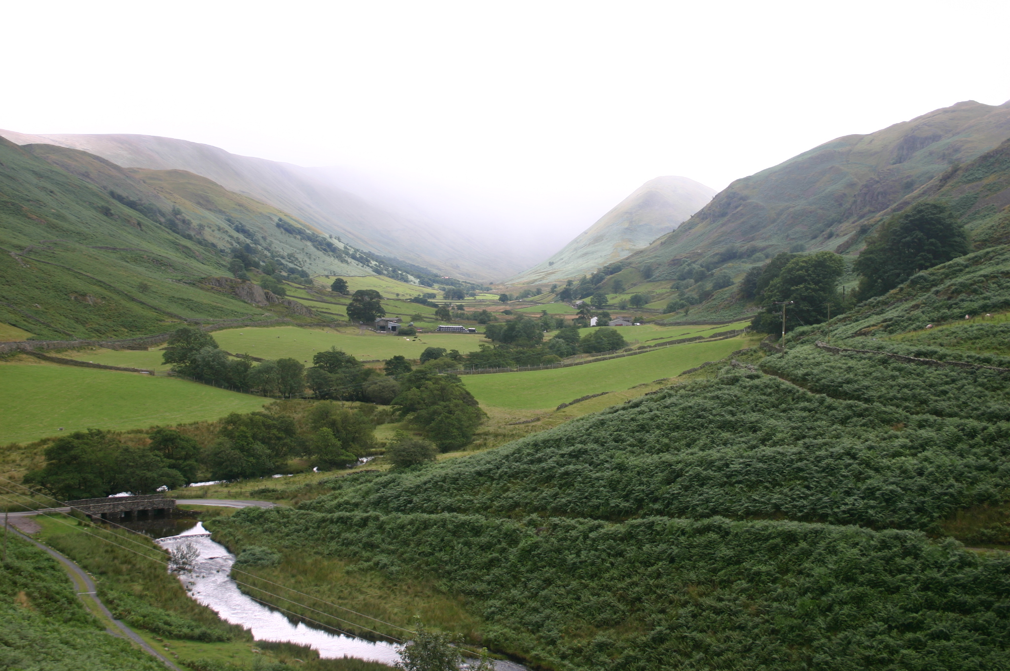 The Lake District: Martindale, east of Ullswater