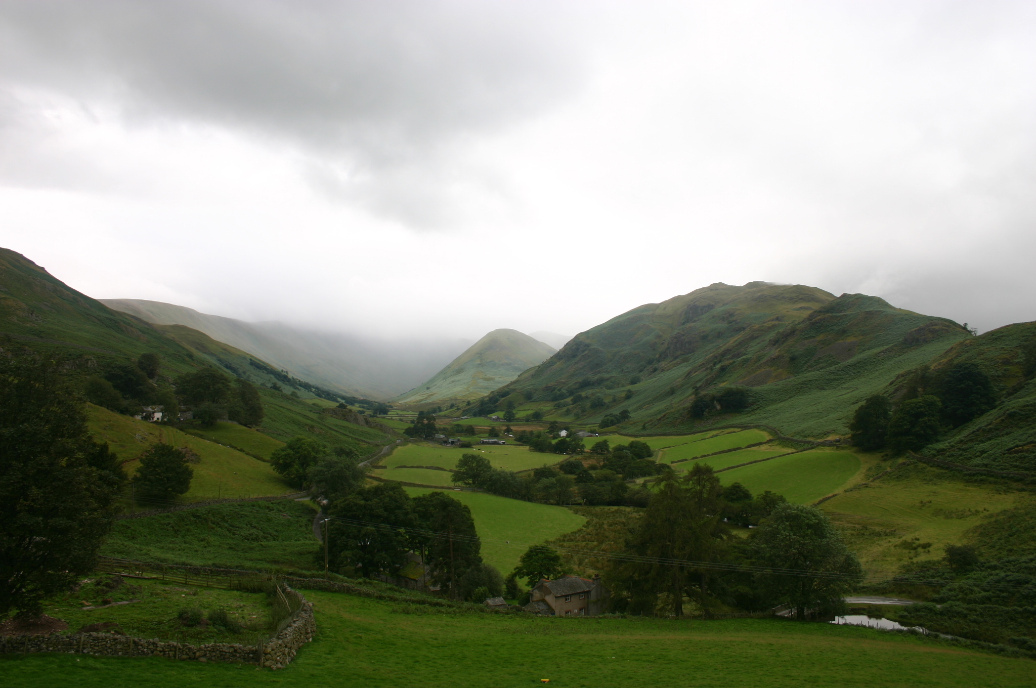 United Kingdom England Lake District, The Lake District, Martindale in damp, Walkopedia