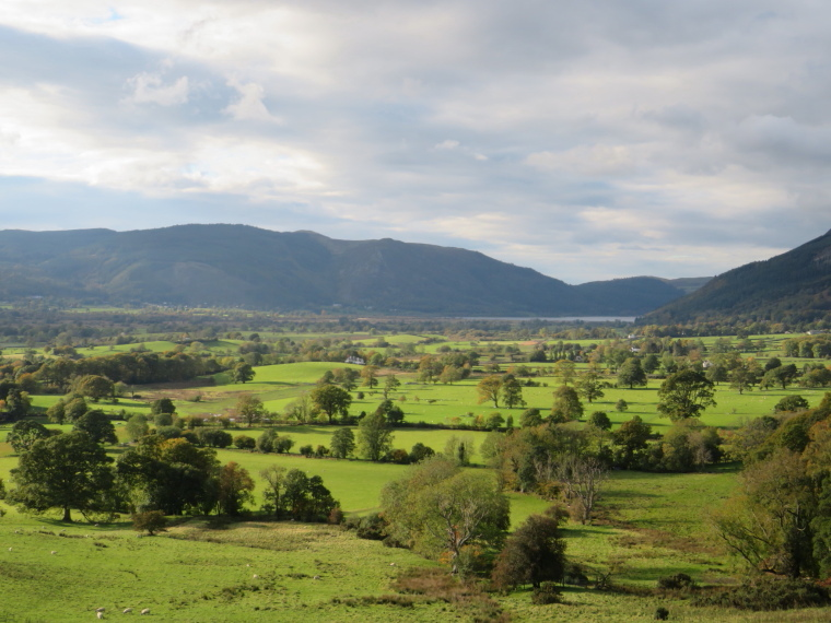 The Lake District: West from Cumbria Way just above Keswick - © William Mackesy
