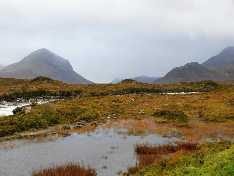 United Kingdom Scotland Isles Skye, Glen Sligachan, Glen Sligachan , Walkopedia