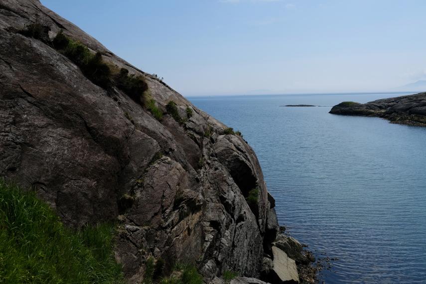 United Kingdom Scotland Isles Skye, Loch Coruisk, The Bad Step , Walkopedia