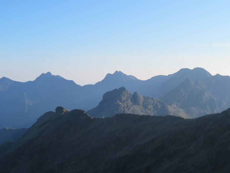 Bruach na Frithe: Southern Black Cuillin summits from Bruach na Frithe - © William Mackesy