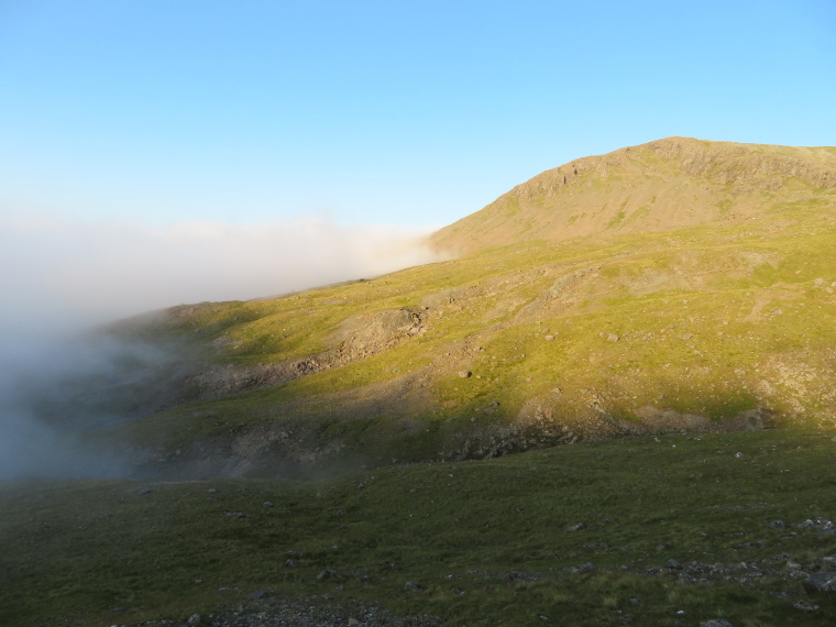 Bruach na Frithe: Just above the cloud, 8pm - © William Mackesy