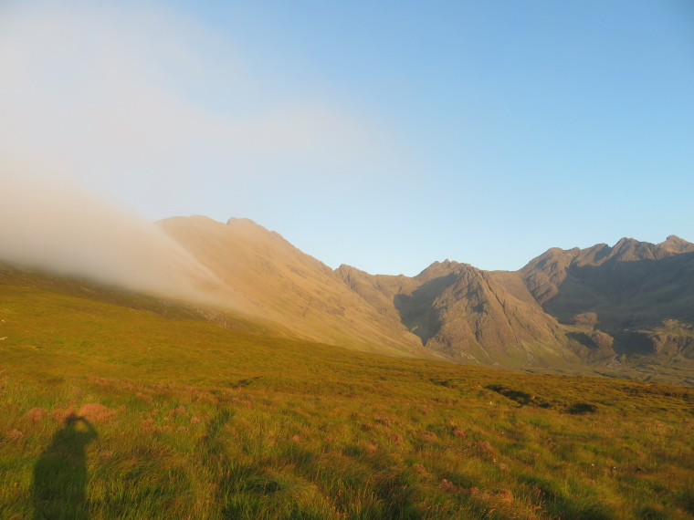 Bruach na Frithe: Coire na Creiche, evening light - © William Mackesy