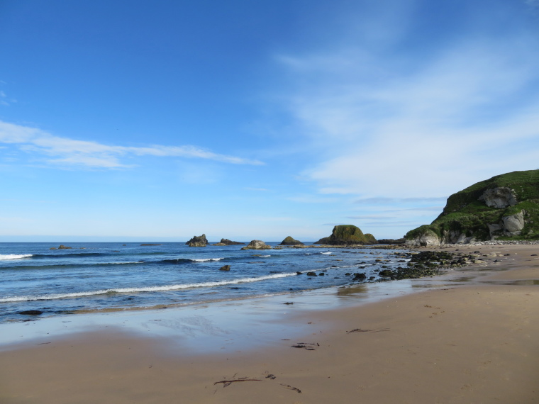Ballintory to Giants Causeway: White Park Bay - © William Mackesy