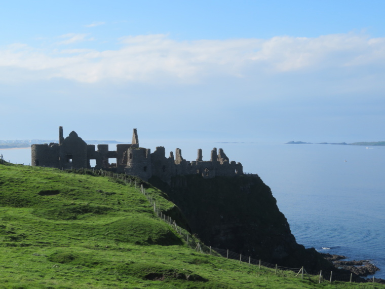 Portstewart to Portballintrae: Dunluce castle - © William Mackesy