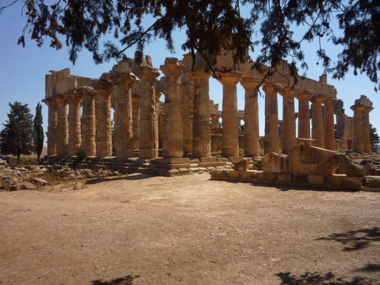 Libya, Cyrene, Greek Temple of Zeus at Cyrene, Walkopedia