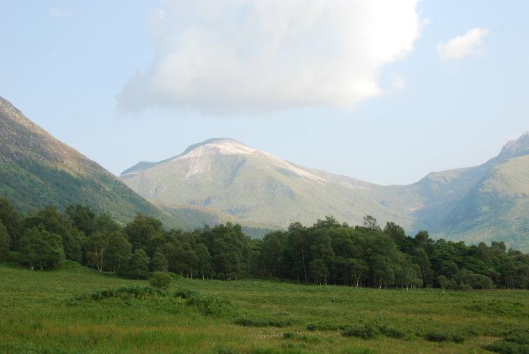United Kingdom Scotland SW Highlands, Kinlochleven to Fort William, Glen Nevis, Walkopedia