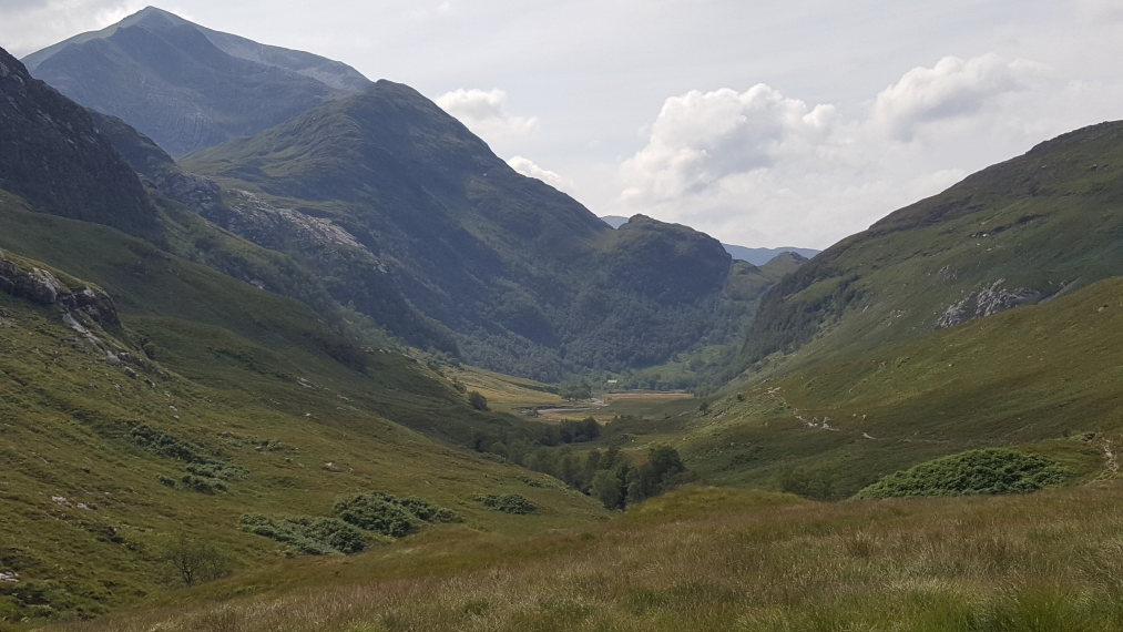United Kingdom Scotland SW Highlands, Upper Glen Nevis , , Walkopedia