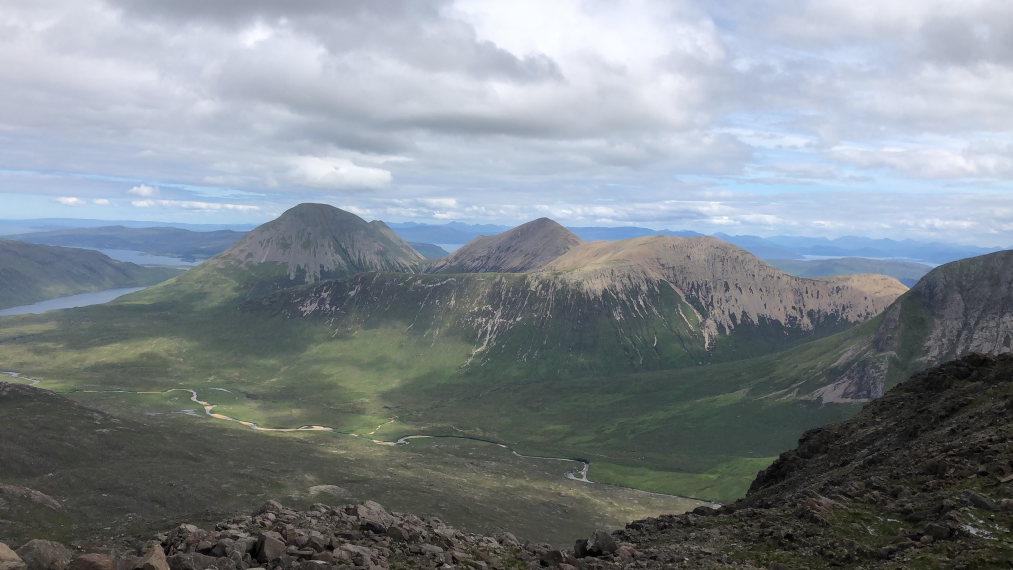 United Kingdom Scotland Isles Skye, Sgurr nan Gillean, Red Cuillin from Sgurr nan Gillean, Walkopedia