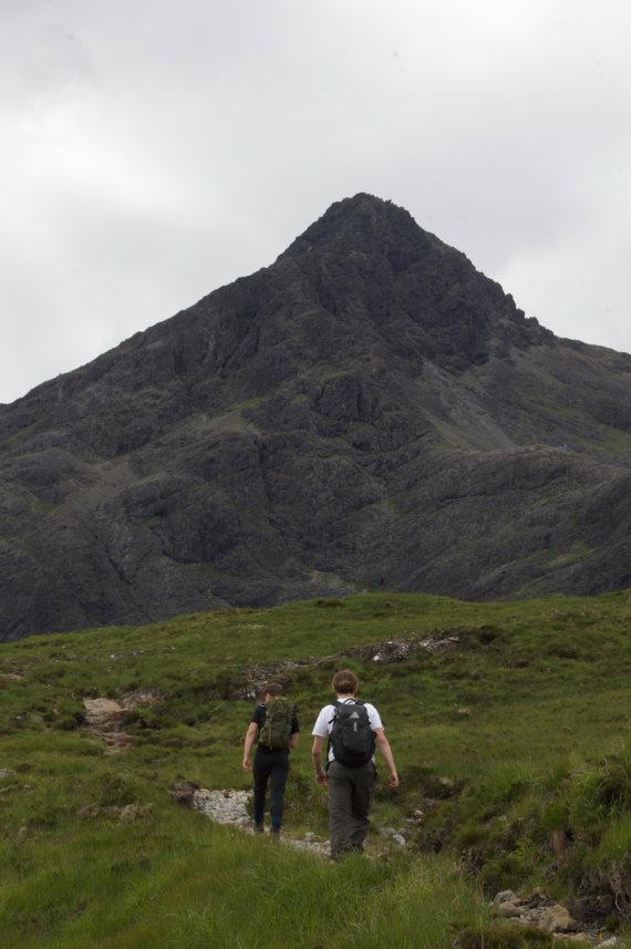 United Kingdom Scotland Isles Skye, Sgurr nan Gillean, Sgurr nan Gillean approach, Walkopedia