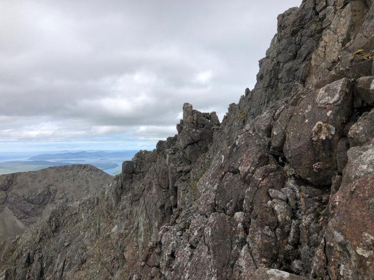 United Kingdom Scotland Isles Skye, Sgurr nan Gillean, South-east ridge, Walkopedia
